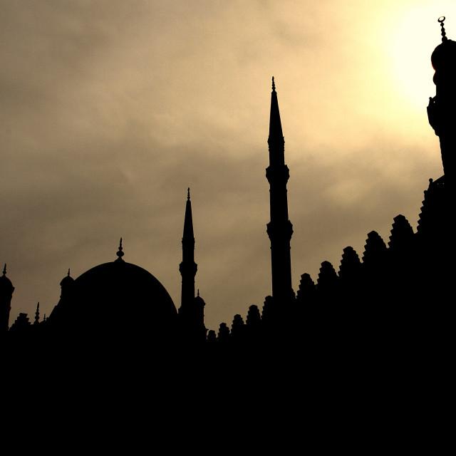 """Minarets"" stock image"