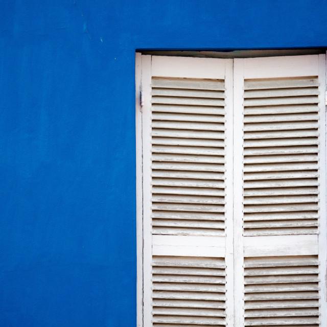 """Bo-kaap Window"" stock image"