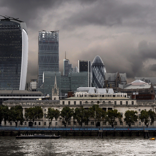 """""""from the southbank"""" stock image"""