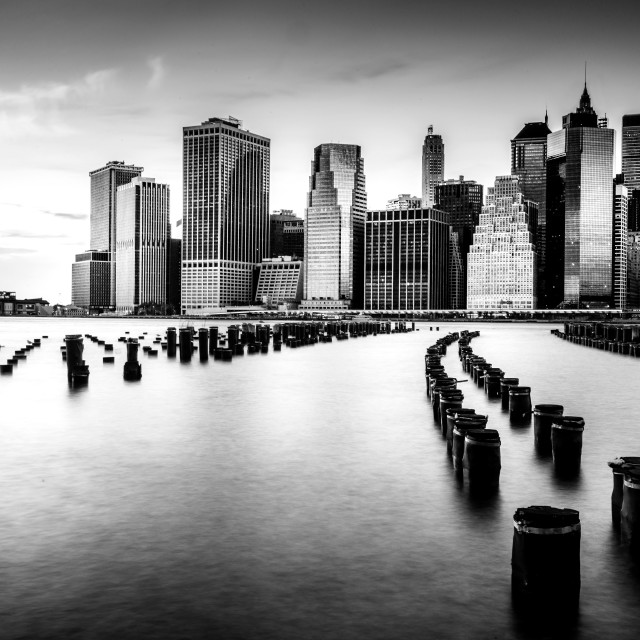 """Graphic New York City Skyline"" stock image"