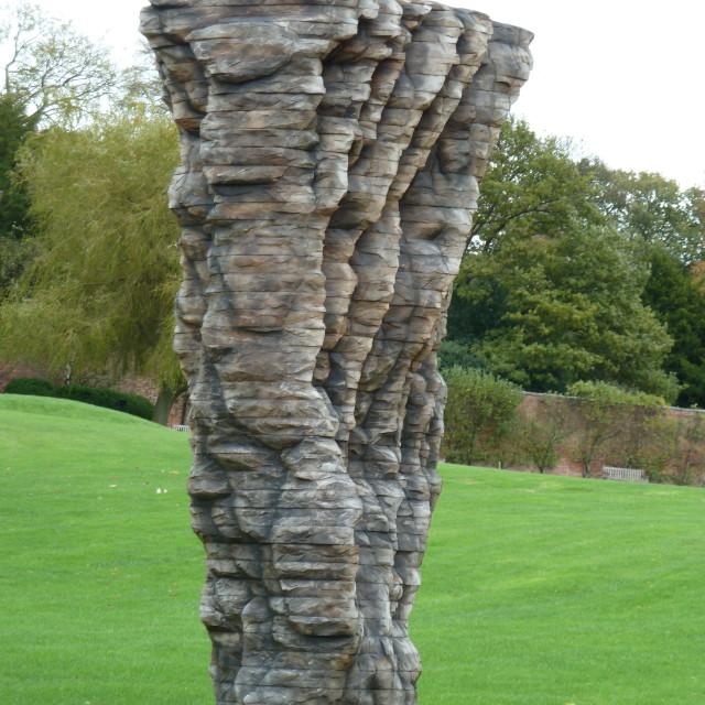"""Wooden sculpture"" stock image"