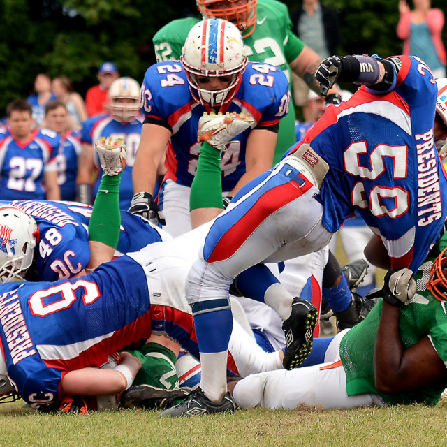 """American Football"" stock image"