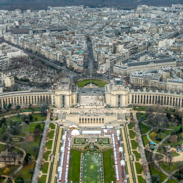 """Palais de Chaillot - Paris"" stock image"
