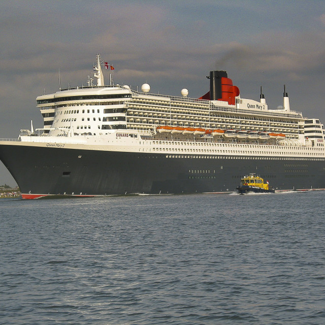 """""""Young Queen Mary 2"""" stock image"""