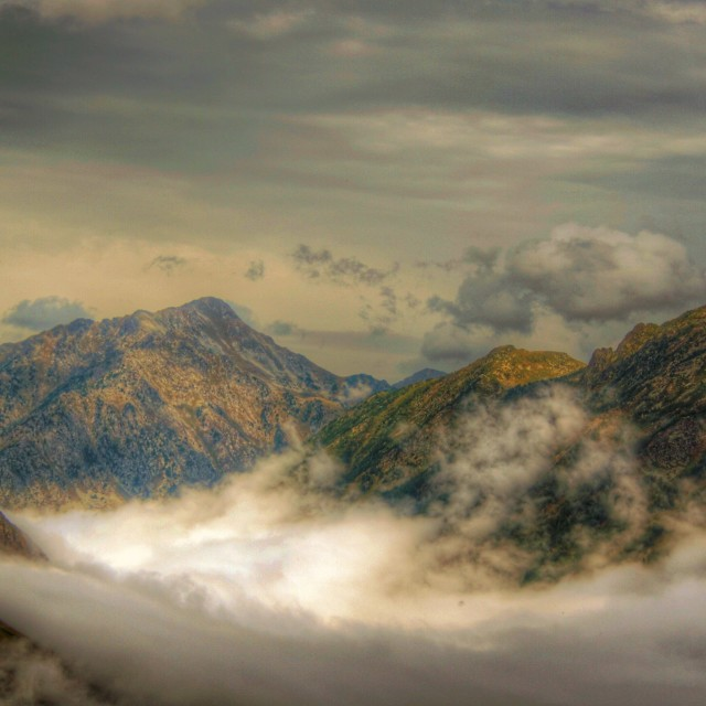 """""""French Mountains"""" stock image"""