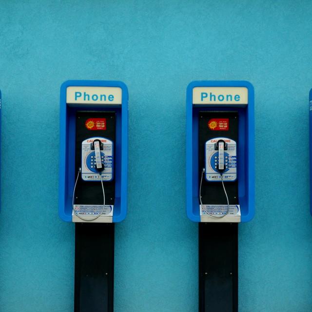 """""""Payphones"""" stock image"""