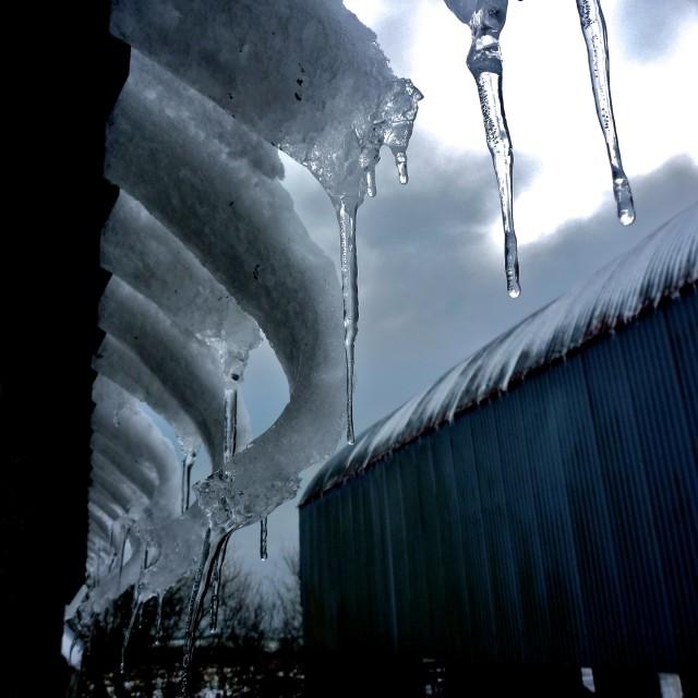 """IceBarn"" stock image"