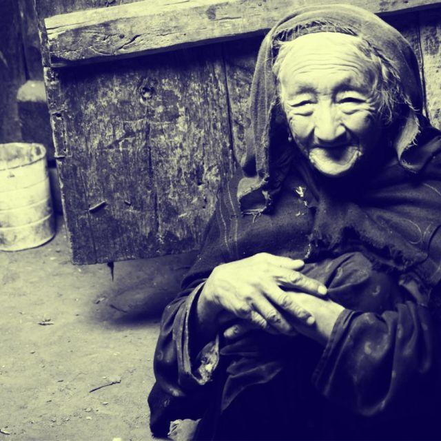 """""""Baluchistani Woman, Turtuk"""" stock image"""