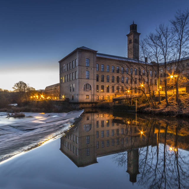 """Salts Mill"" stock image"