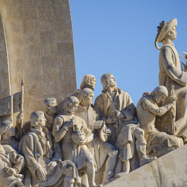 """Monument to the Discoveries"" stock image"