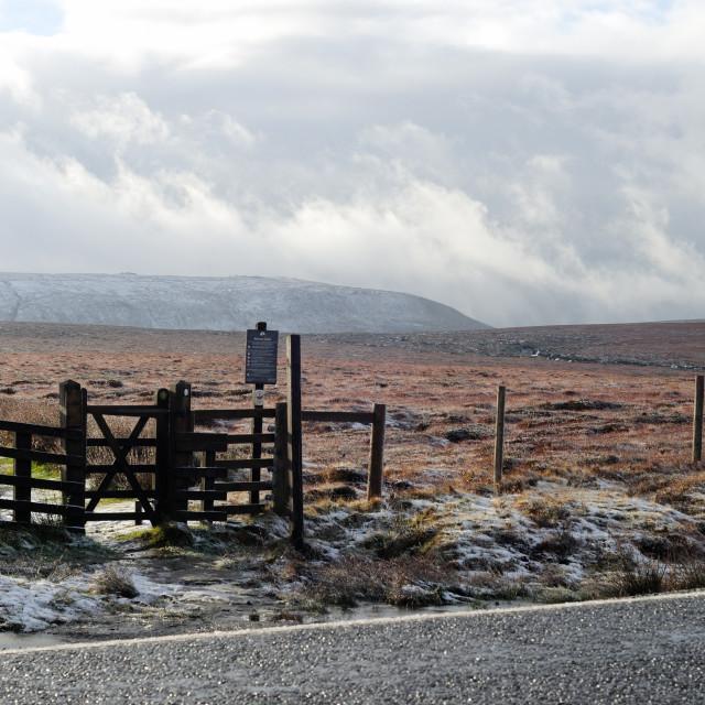 """Ashop Moor ,High Peak ."" stock image"