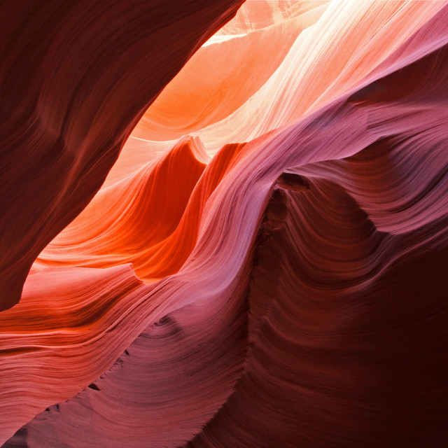 """The Waves of Antelope Canyon"" stock image"
