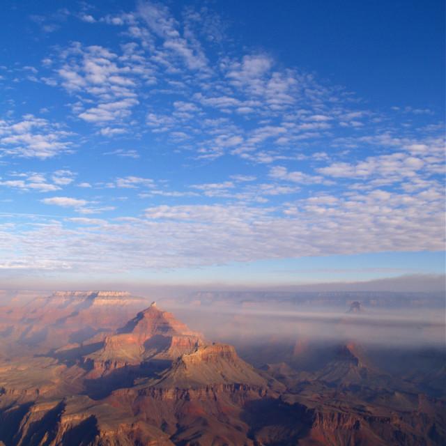 """""""Grand Canyon Sunrise"""" stock image"""