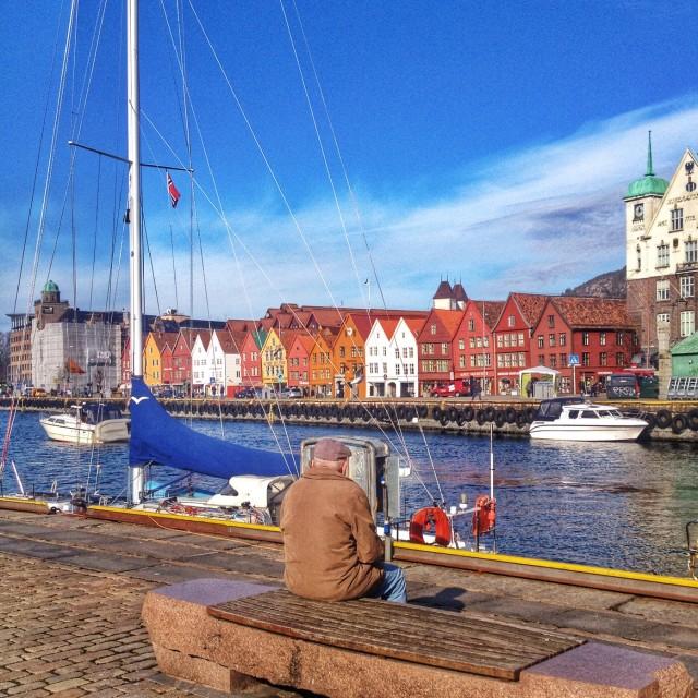 """""""Bergen's serenity"""" stock image"""