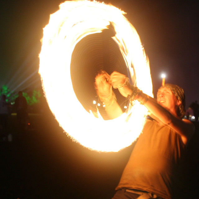 """""""Ring of Fire"""" stock image"""