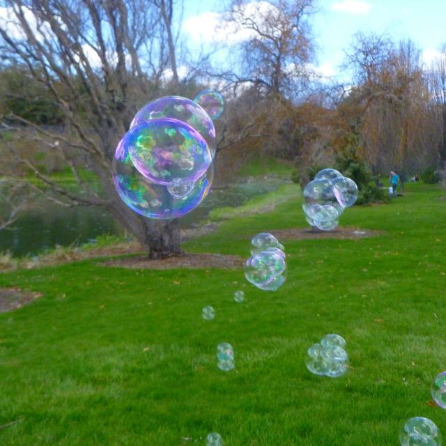 """Bubbles"" stock image"