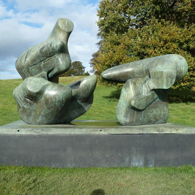 """""""Henry Moore II"""" stock image"""