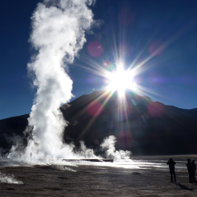 """Tatio Dawn"" stock image"