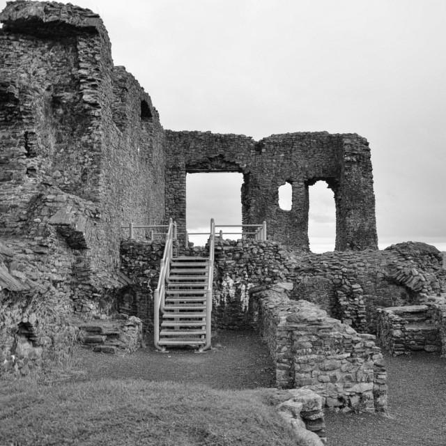 """kendal castle cumbria"" stock image"