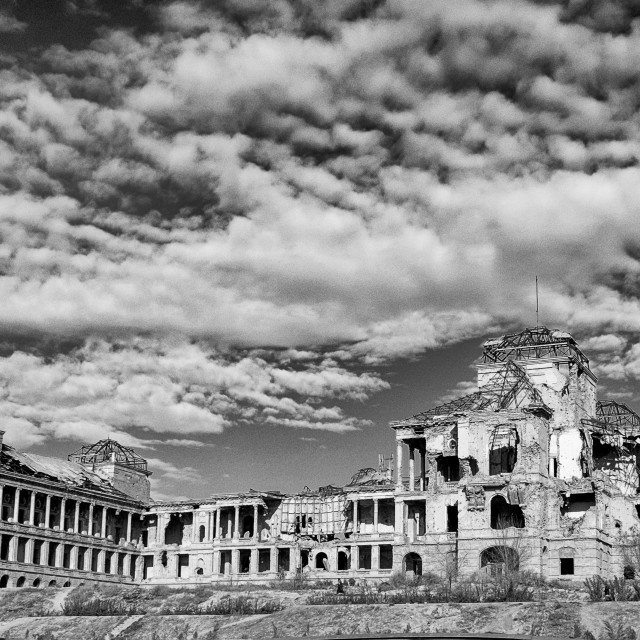"""The King's Palace Kabul"" stock image"