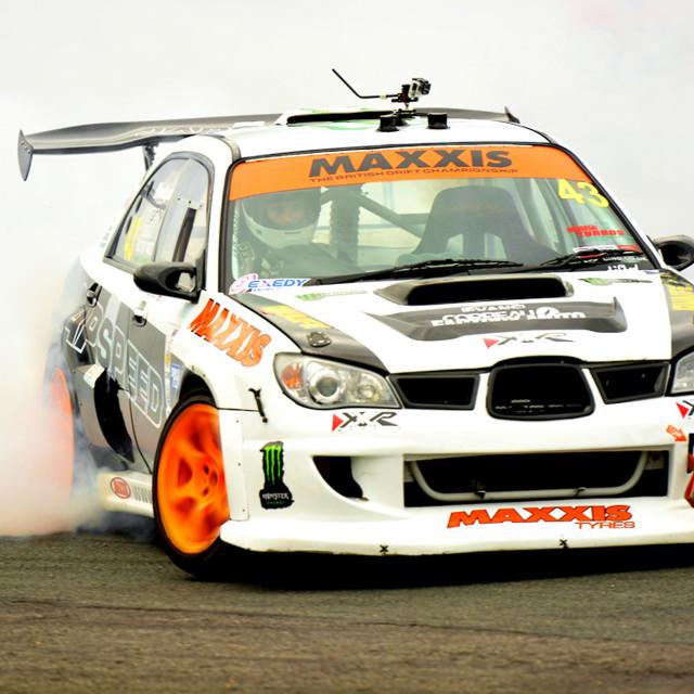 """British Drift Car Championship 2014"" stock image"
