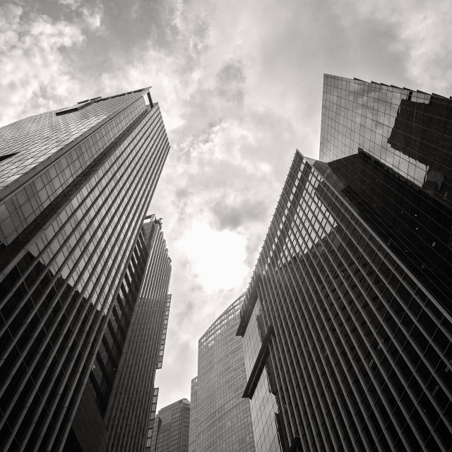 """City Towers"" stock image"