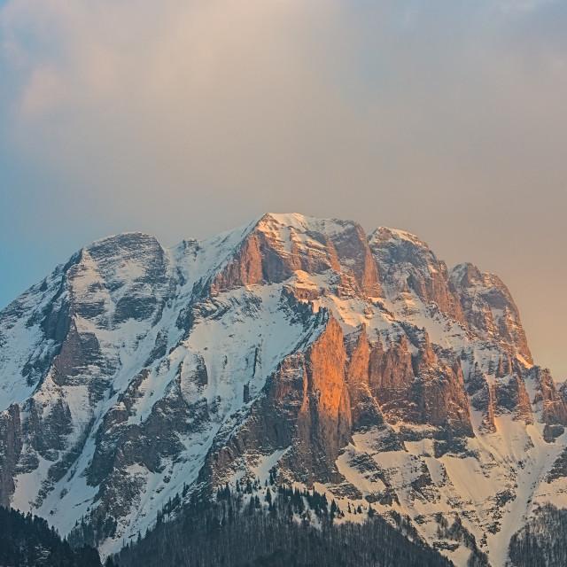 """Sunset peak"" stock image"