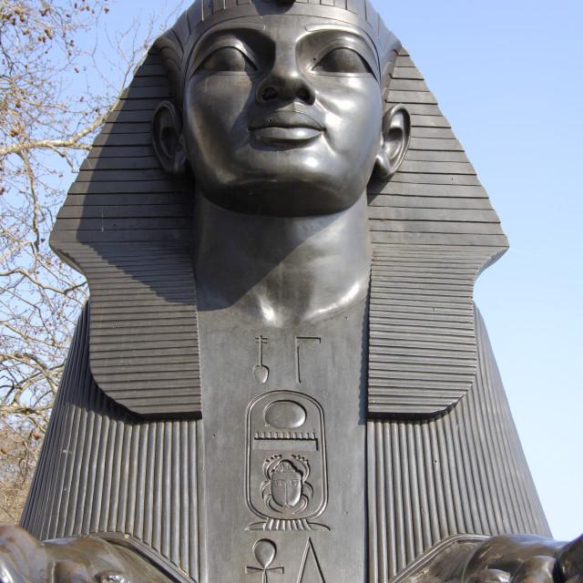 """Sphinx Statue"" stock image"