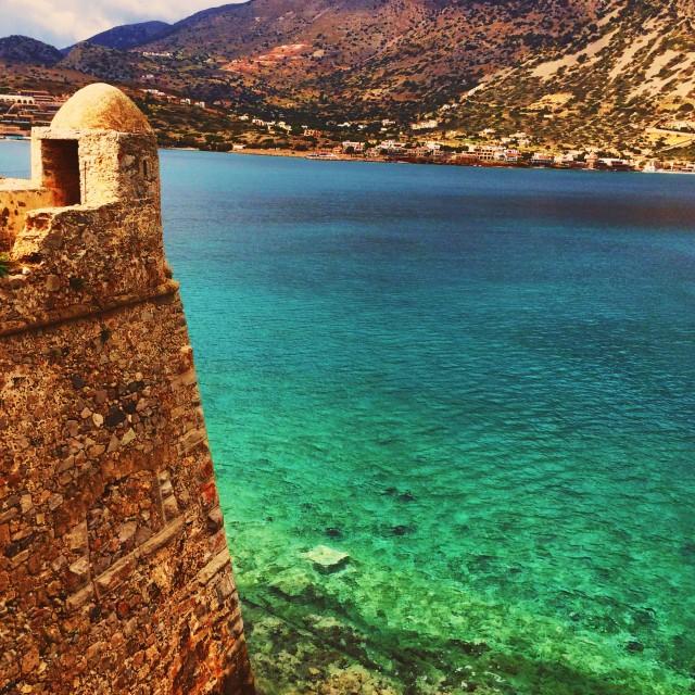 """Crete, Spinalonga"" stock image"