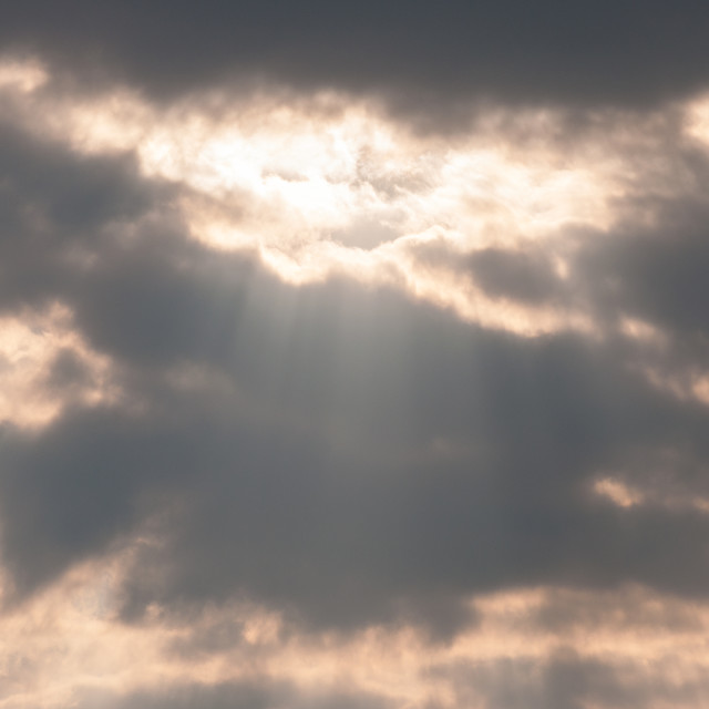 """Rays of Light"" stock image"