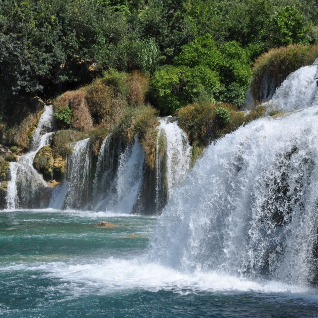"""Krka Waterfalls"" stock image"