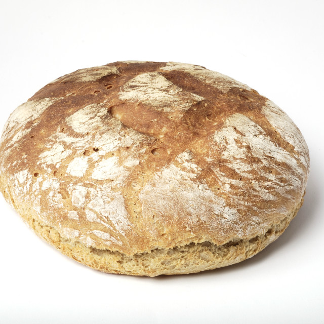 """Organic wholegrain bread homemade"" stock image"