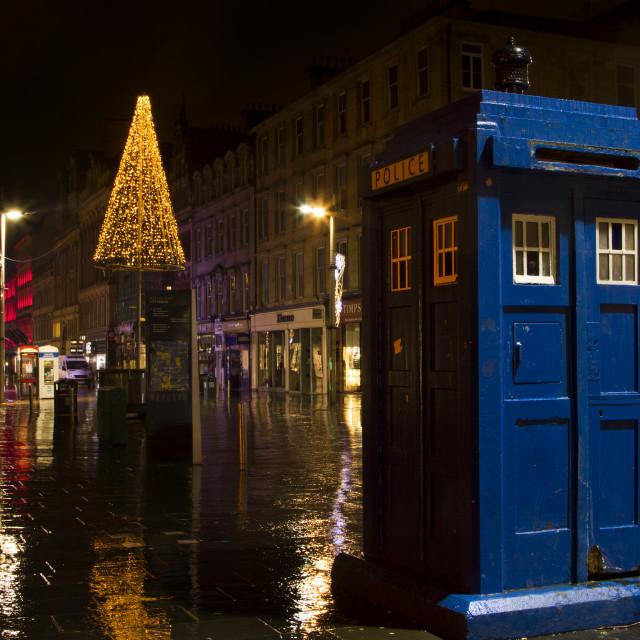 """""""Dr Who Tardis"""" stock image"""