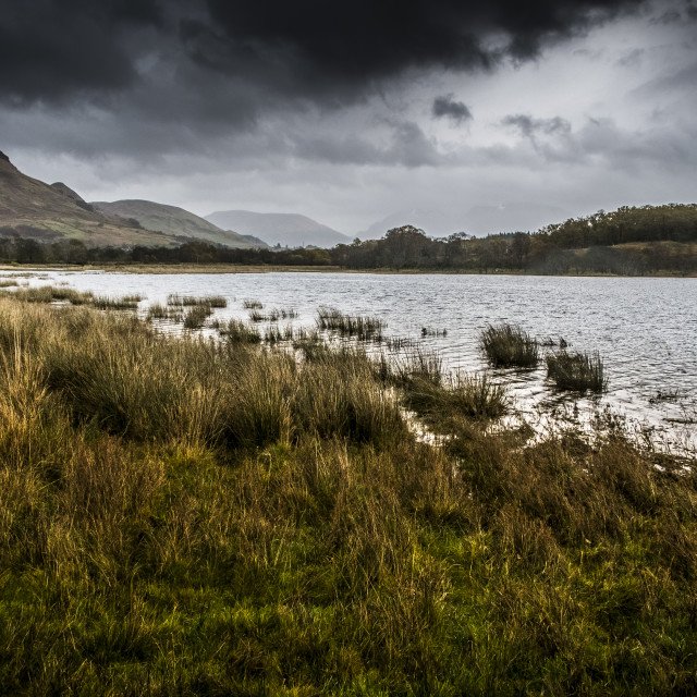 """""""Loch Awe in autumn"""" stock image"""