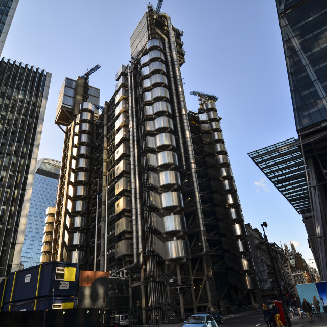 """Lloyd's of London"" stock image"