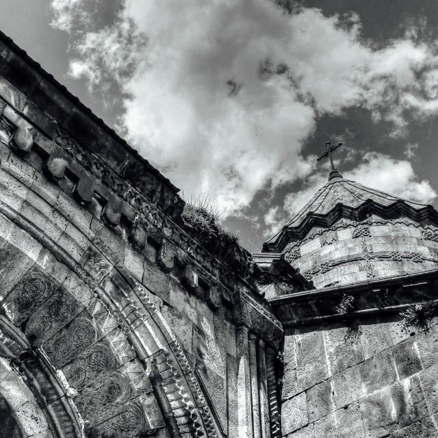 """""""In Tatev monastery (V.2)"""" stock image"""