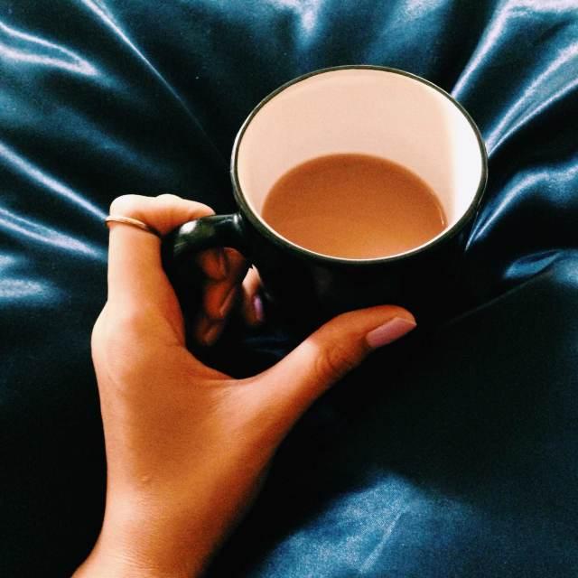 """Morning Cuppa"" stock image"
