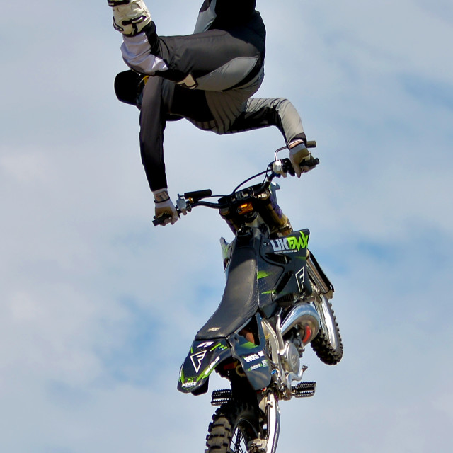 """FMX Motor Cross"" stock image"