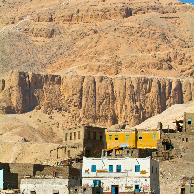 """""""Egypt, Nile Valley, Luxor area, Thebes"""" stock image"""