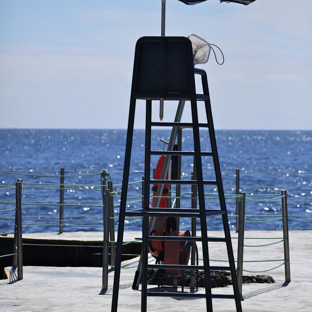 """Lifeguard Chair 2"" stock image"