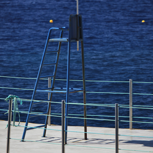"""Lifeguard Chair 1"" stock image"