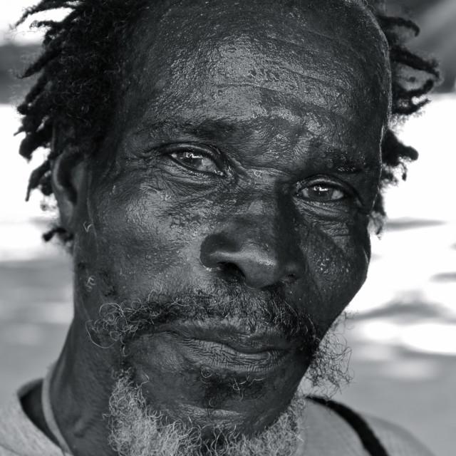 """Portrait of a Grenadian"" stock image"