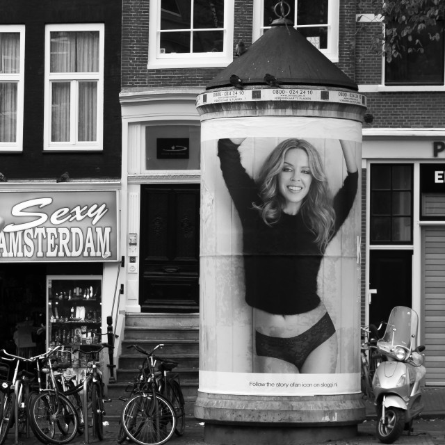 """Amsterdam Streets #3770"" stock image"
