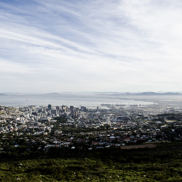 """Early Morning Cape Town"" stock image"
