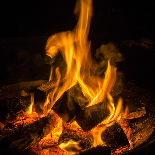 """""""Fire Pit"""" stock image"""