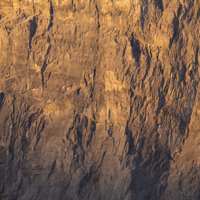 """Mountain Face Texture"" stock image"