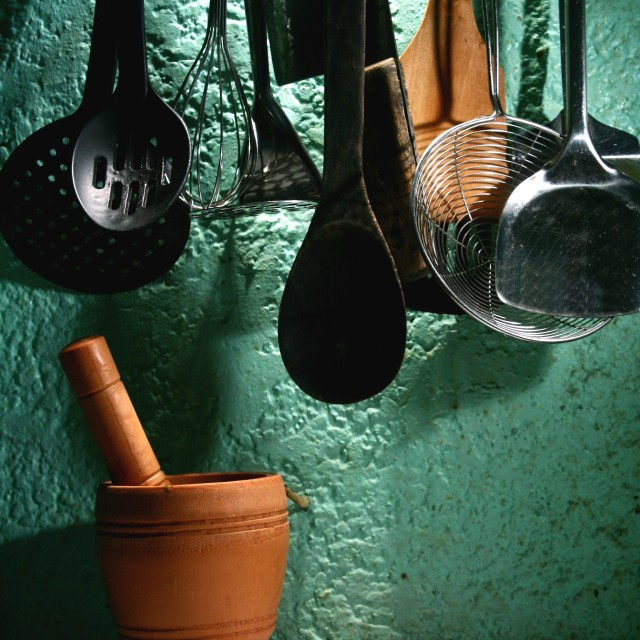 """Kitchen Utensils"" stock image"