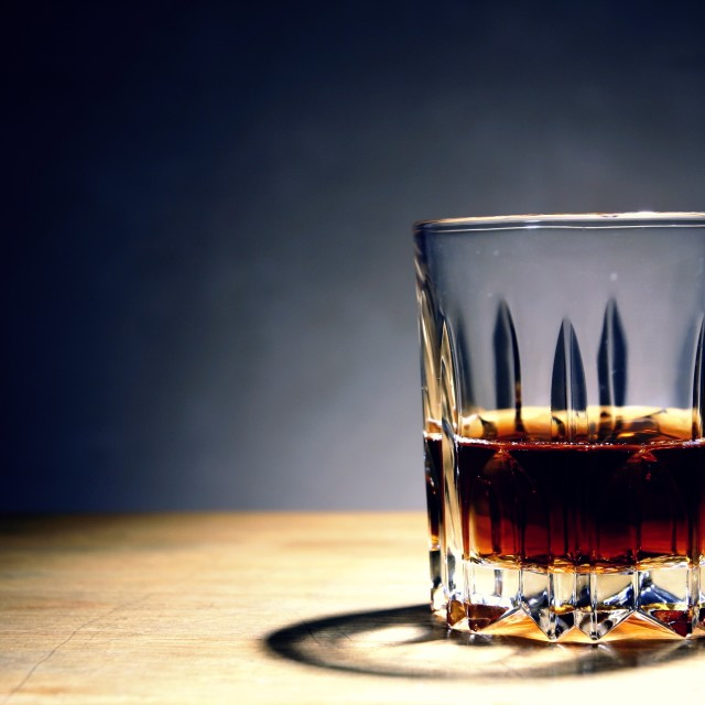 """""""alcoholic drink in a glass"""" stock image"""