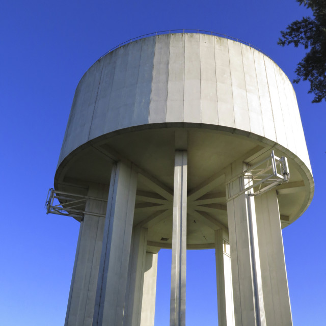 """Water Tower"" stock image"