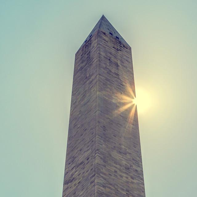 """""""Washington Monument"""" stock image"""